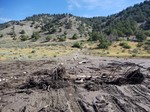 Spanish Fork Canyon, US-6 Flooding Deposits